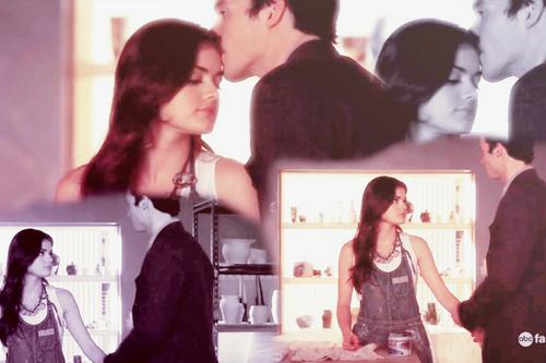 Aria/Ezra 2x08♥