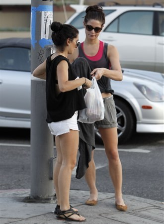 Ashley Greene: Shopping -August 2, 2011
