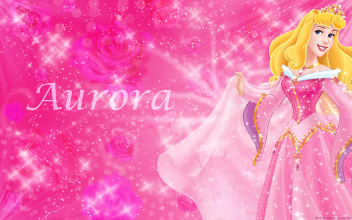 Sleeping Beauty wallpaper probably with a bouquet titled Aurora