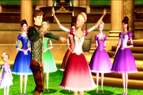 baebie in the 12 dancing princesses