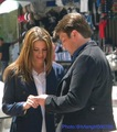 Behind the scenes - castle photo