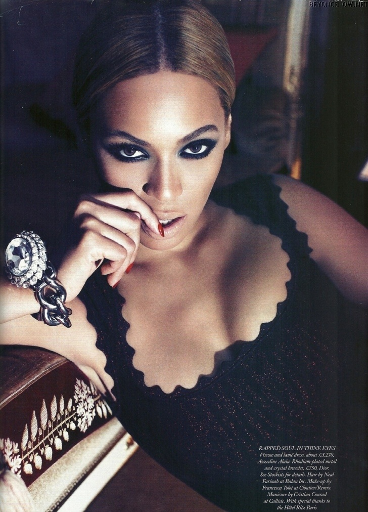 Beyonce - Photoshooting - Harper's Bazaar 2011