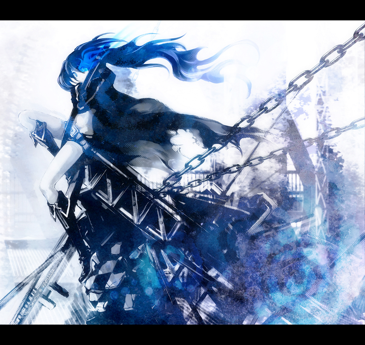 black rock shooter(vocaloid) images black rock shooter :3 hd