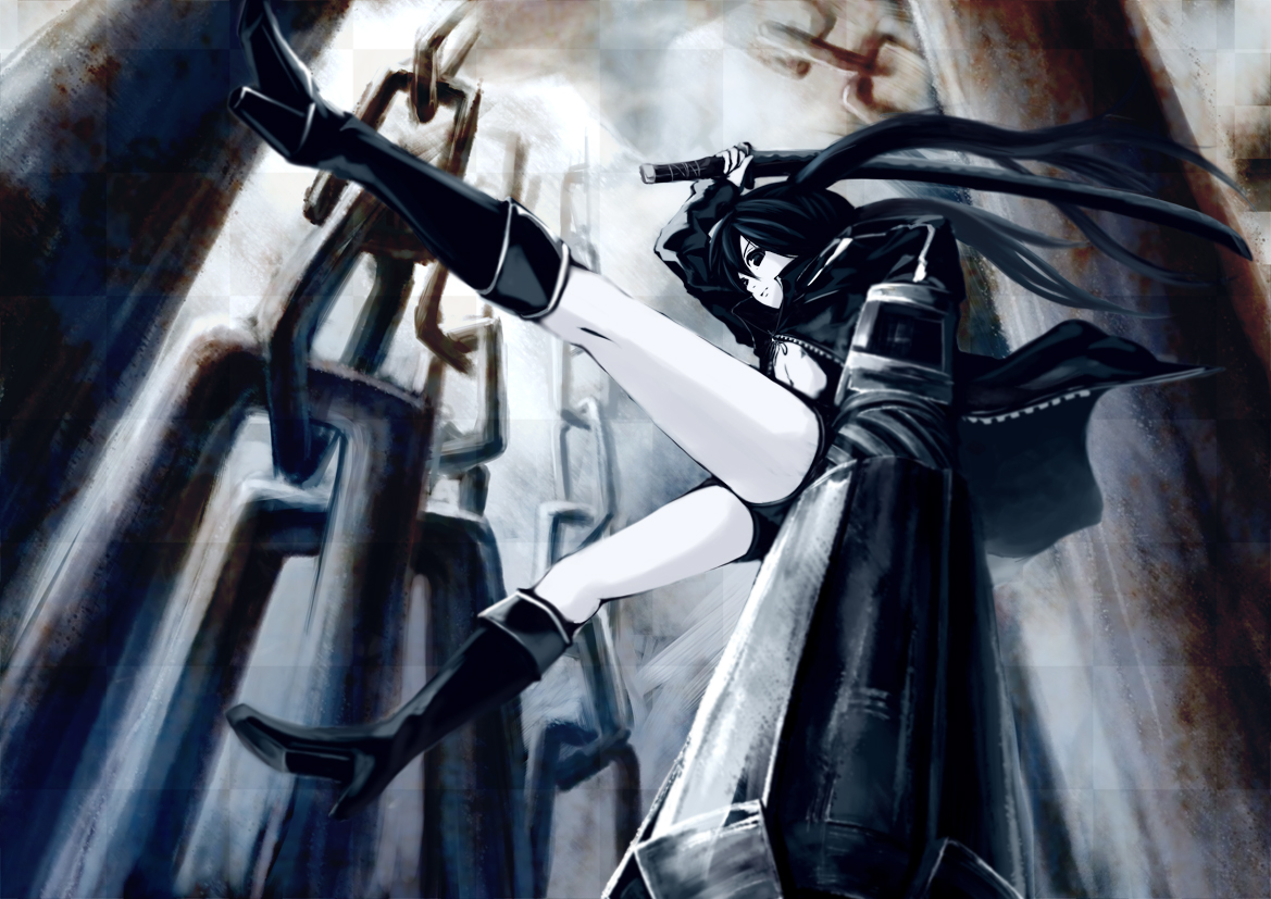 Black Rock Shooter :3 - black-rock-shooter-vocaloid photo