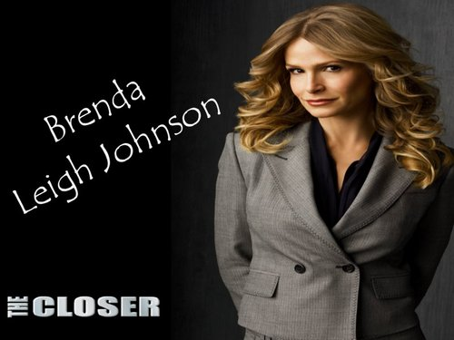 The Closer wallpaper containing a business suit, a suit, and a well dressed person titled Brenda Leigh Johnson