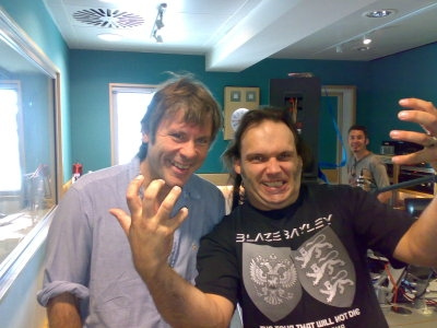 Bruce and Blaze Bayley