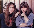 Bruce and Steve Harris - bruce-dickinson photo