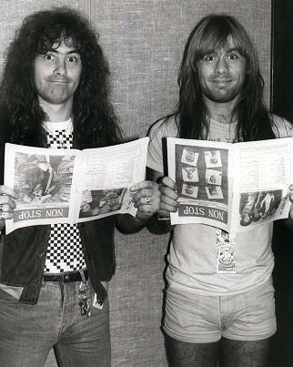 Bruce and Steve Harris