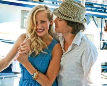 Candice and Ian at Comic Con 2011!