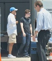 Chris Colfer On the 'Struck By Lightning' set - July 27, 2011