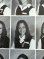 Christina Perri in her high school yearbook