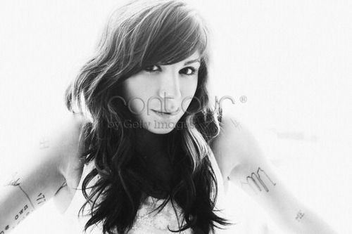 Christina Perri foto shoot