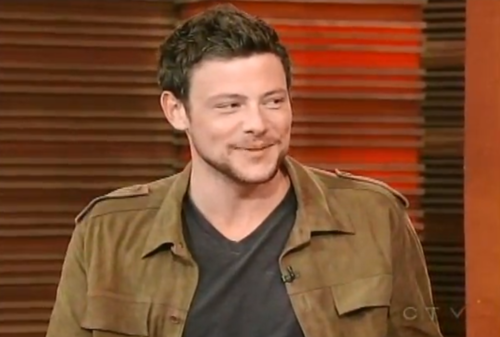 Cory Monteith on Regis & Kelly (August 2, 2011)
