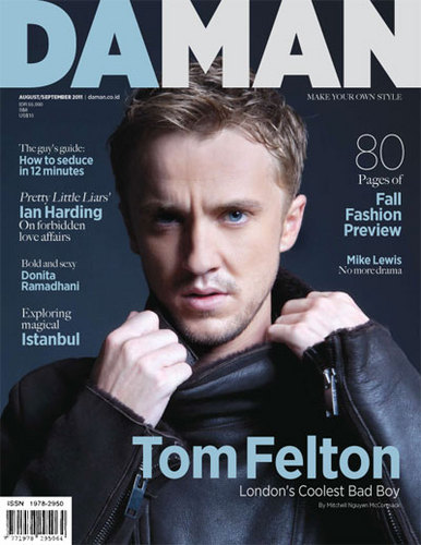 Tom Felton wallpaper containing anime and a portrait titled DaMan (August 2011, Indonesia)