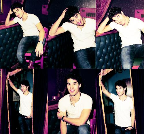 Darren poses