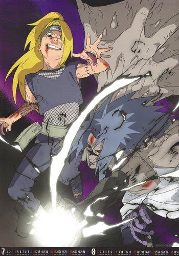 Deidara vs. Sasuke