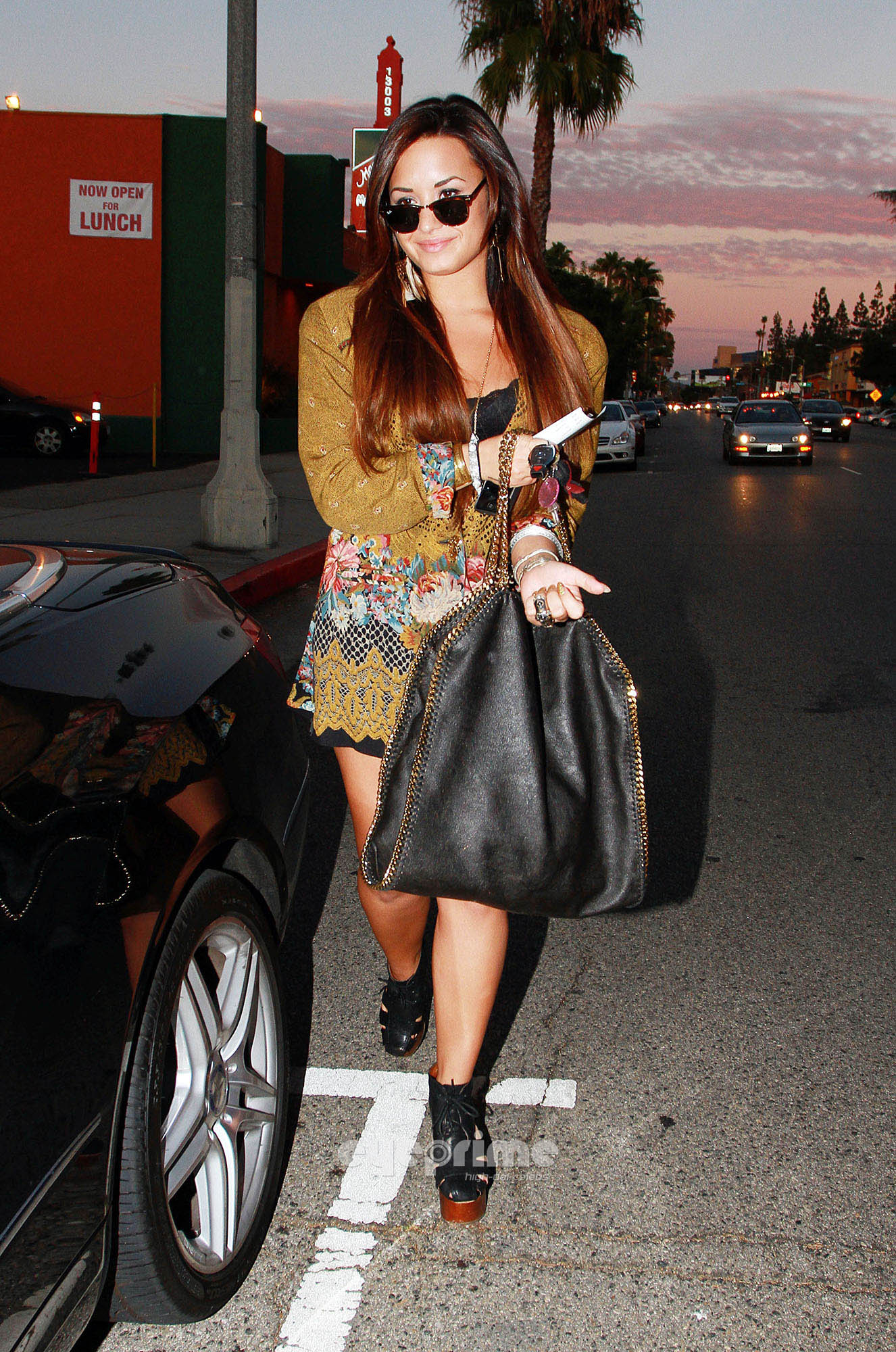 Demi Lovato out in Los Angeles, August 2 - demi-lovato photo