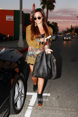 Demi Lovato out in Los Angeles, August 2