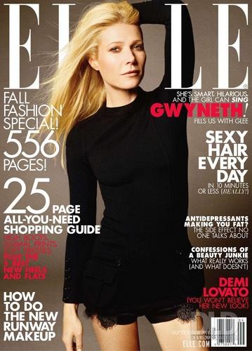 Demi - Magazine Scans - Elle Magazine - September 2011
