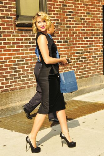 Dianna @ Late toon With David Letterman 08/01/2011