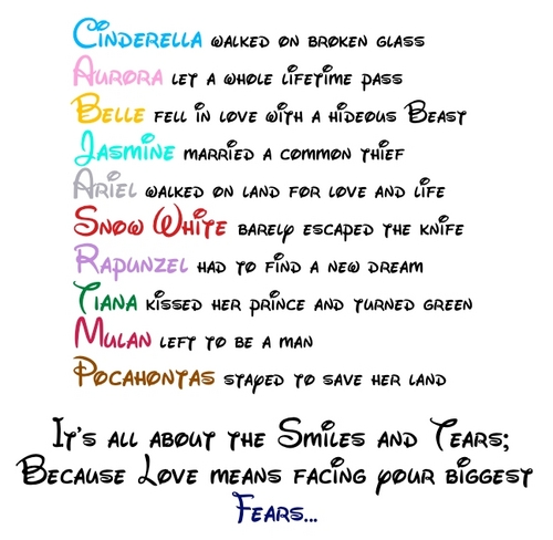 Disney Princess Amore Quote