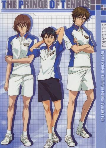 Echizen, Fuji & Tezuka