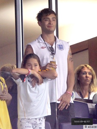 Ed Westwick at MLS All 星, つ星 match – 27 07 2011