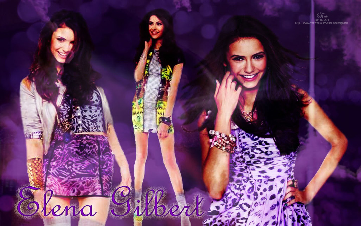Elena Gilbert Vampire Diaries- Wallpaper - The Vampire Diaries