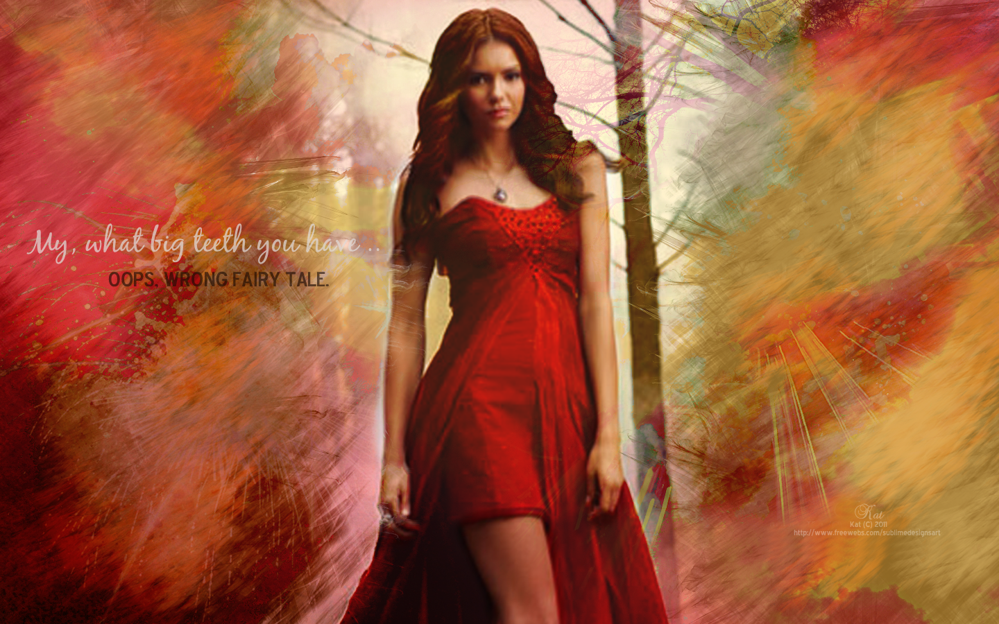 Elena Gilbert Vampire Diaries Wallpaper - The Vampire Diaries