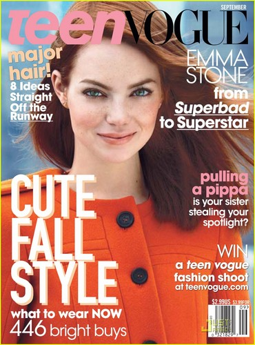 Emma Stone Covers 'Teen Vogue' September 2011