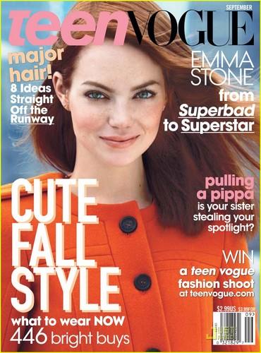 Emma Stone Covers 'Teen Vogue' September 2011