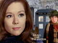 Emma and The Doctor - diana-rigg wallpaper