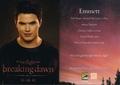 Emmett Cullen Breaking Dawn Trading Card