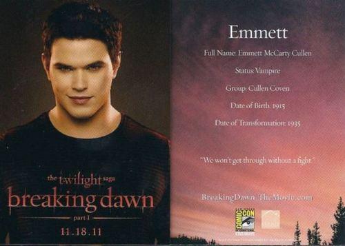 Emmett card