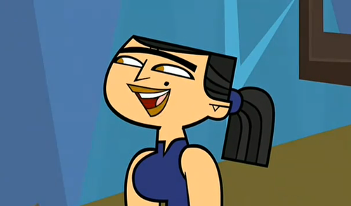Eva smiling? - total-drama-island Screencap