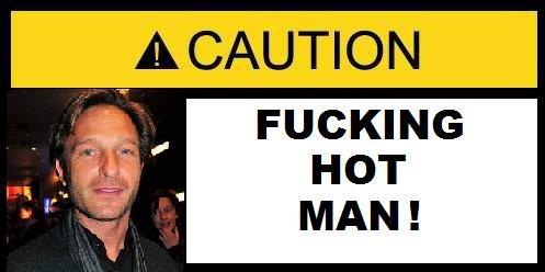 F*CKING HOT MAN SIGN 2