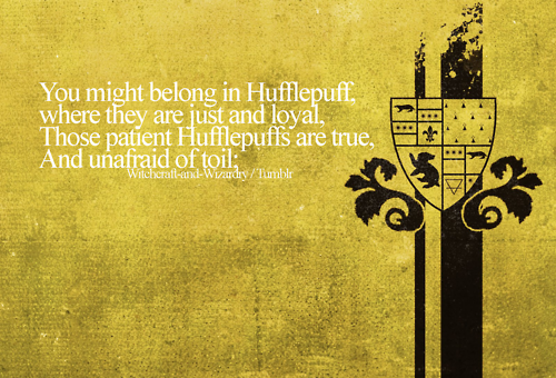팬 Art - Hufflepuff