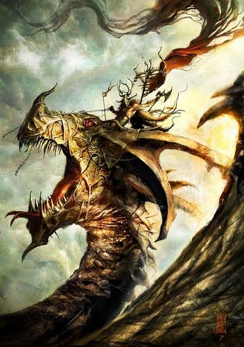 fantasi Dragon