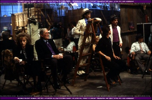 "Filmin' ""Smooth criminal"""