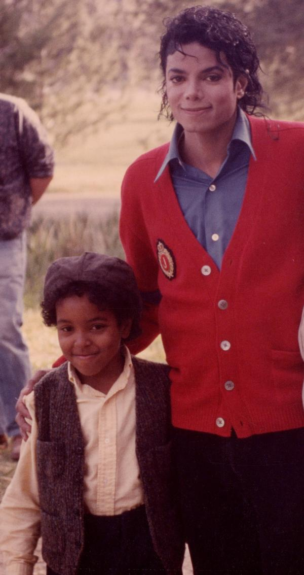 Filming''Moonwalker''Michael and Brandon Adams Quentin. Premiered on October 29, 1988