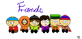Friends!!!  - south-park fan art