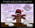 Gaara discovers fandom - naruto-and-naruto-shippuden fan art