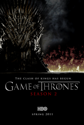 Game of Thrones- Season 2 Poster - game-of-thrones Fan Art