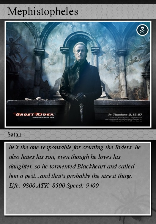 Ghost Rider cards