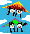 Hanggliding with my besties - hannah-the-penguin-official-club photo