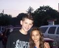 Hannah (Louis' girlfriend)& Vinny<3