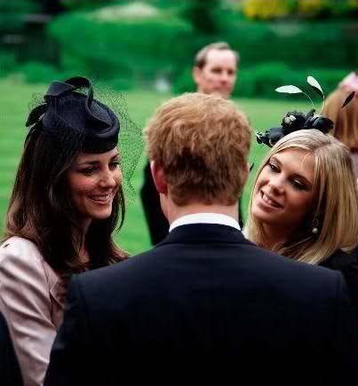Harry, Chelsy & Kate