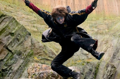 Harry Potter and the Goblet of 火災, 火