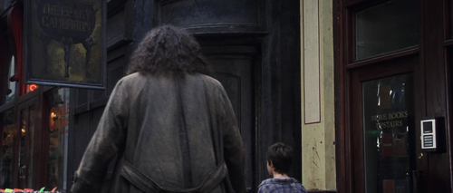 Harry James Potter wallpaper possibly with a street entitled Harry Potter and the Sorcerer's Stone