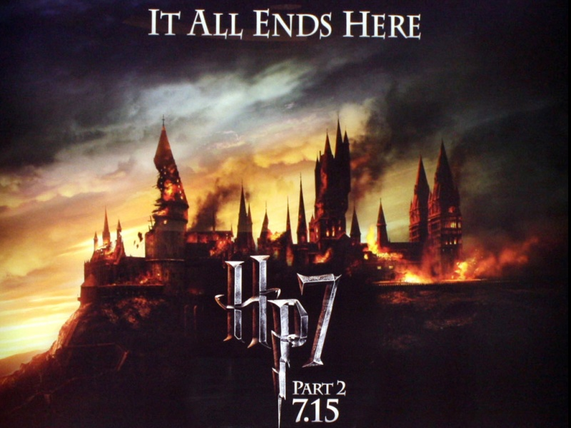 Harry Potter and the deathly hallows movie poster - Harry ...